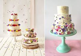 wedding cake edible decorations cake with flower decoration