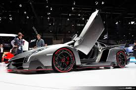 Lamborghini Veneno Galaxy - the beast spreads its wing the doors on the lamborghini veneno