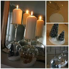 wine glass snow globes goblet snow globes diy cozy home