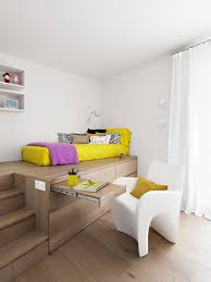 Clever Interior Design Ideas Clever Use Of Storage Space Under The Bed And Stairs Idesignarch