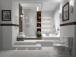 Basement Bathroom Ideas Designs White Basement Bathroom Ideas With Corner Shower Designs Also