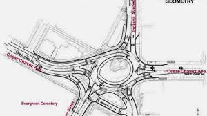 notorious east la intersection getting la u0027s first roundabout