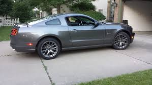 2013 mustang wheels and tires widest tire on a track pack wheel the mustang source ford