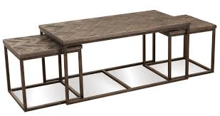 coffee table furniture coffee table with nesting stools hardwood