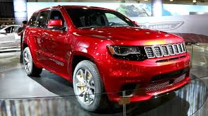 jeep hellcat custom 2018 jeep grand cherokee trackhawk suv with a hellcat heart