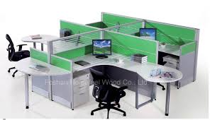 Office Table With Partition Office Furniture Desks Computer Carts At Valsshowcase Idolza