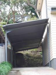 Outrigger Awnings Cantilevered Carport Awning Houzz