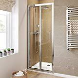 amazon com bifold shower doors showers tools u0026 home improvement