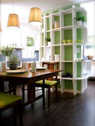 Kitchen Living Room Divider Ideas Fixed Green White Kitchen Living Room Divider Ideas With Fack