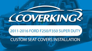 Ford F350 Truck Seat Covers - coverking 2011 2016 ford f250 f350 super duty custom seat cover
