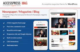 best free wordpress magazine theme accesspress mag accesspress