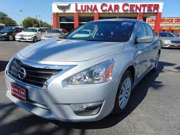 nissan altima 2015 blue 2015 nissan altima 2 5 4dr sedan in san antonio tx luna car center