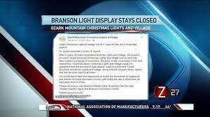 branson christmas lights 2017 ozark mountain christmas lights and village not returning in 2017