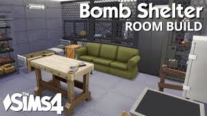 underground shelter designs the sims 4 room build bomb shelter youtube