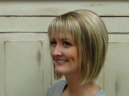 stacked bob with bangs hairstyles hairstyle picture magz