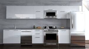 Modern Design Kitchen Cabinets In A Cheap Budget Dzuls Interiors - Modern kitchen white cabinets
