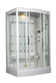 modern sliding glass door bathroom terrific residential steam shower kits with white panels