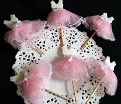 ballerina baby shower decorations 12 princess tutus favors ballerina cupcake toppers tutus ballet