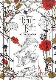 La Belle Et La Bête  60 Coloriages Antistress  Loisirs  Vie
