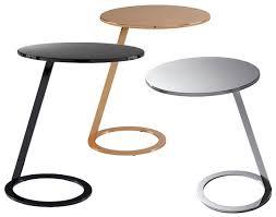 Modern Pedestal Table by Good Morning By Ligne Roset Modern Side Tables Linea Inc