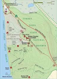 Temecula Winery Map Torrey Pines State Natural Reserve Hiking Razor Point And Broken