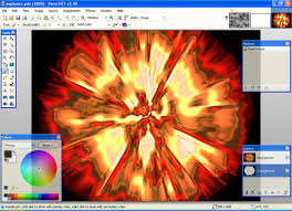 how to make a cool explosion on paint net 4 steps