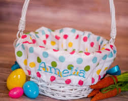 personalized basket decorative baskets bowls etsy