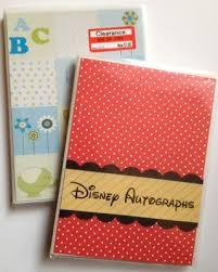 Pocket Photo Album Diy Disney Autograph Books Using Clearance Pocket Photo Album