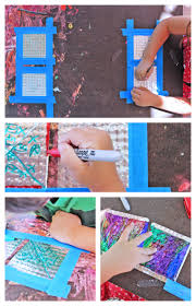 pie tins make the coolest canvas tin art easy art and craft