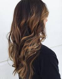 light brown highlights on dark hair hairstyles featuring dark brown hair with highlights