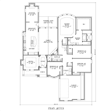 collections of house plans 4 bedrooms one floor free home