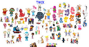 time warner cable kids characters custom time warner cable kids