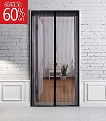 Patio Door Magnetic Screen Magnetic Screen Door For Folding Front Temporary Mesh Ninepea