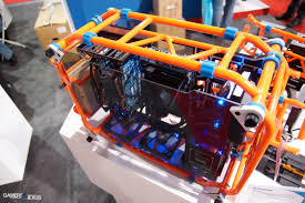 in win u0027s open air d frame diy gaming pc case build it yourself
