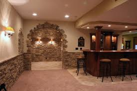 Interior Stone Arches Stone Wine Cellars Traditional Basement Chicago By North