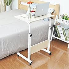adjustable movable laptop table amazon com soges 23 6 adjustable laptop table portable mobile