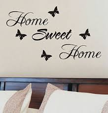 home sweet home decoration home sweet home wall sticker quote vinyl wall art home decoration ebay