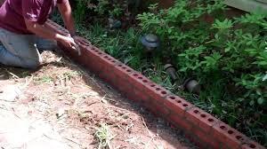 Patio Edging Options by Garden Edging With Bricks Indelink Com