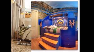 Baseball Bunk Beds Cool Baseball Bedroom Decorating Ideas