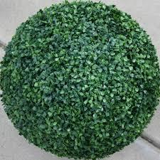 Faux Outdoor Bushes Artificial Outdoor Uv Boxwood Ball 15