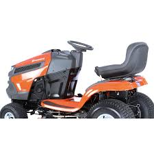 shop husqvarna 18 5 hp automatic 42 in riding lawn mower with