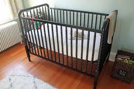 Rug For Nursery Bedroom Elegant Black Jenny Lind Crib Plus Wooden Floor And Rug