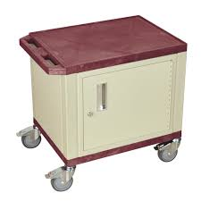 Small Locking Cabinet Furniture Small Utility Cart With Locking Cabinet And Wheels