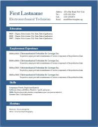 resume template word 2013 best resume templates resume example