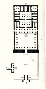 daea 5 ramesses ii temple at abydos layout