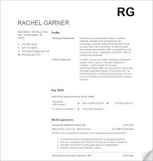 How To Write Resume For Job With No Experience by Resume Templates No Experience The No Experience Resume Style
