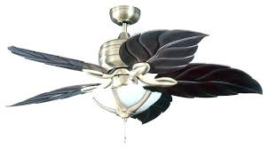 ceiling fan palm blade covers ceiling fan blades covers tropical ceiling fans with light also