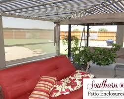 Southern Patio High Wind Patio Enclosure