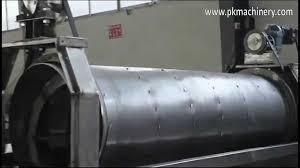 homemade gold trommel design test of stainless steel trommel screen youtube