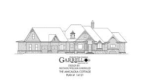 amicalola cottage house plans by garrell associates inc